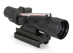 TRIJICON Compact ACOG 3x30mm Dual Illuminated Red Chevron .308 Ballistic Reticle with TA60 Mount