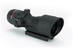 TRIJICON ACOG 6x48mm Dual Illuminated Red Chevron .223 Ballistic Reticle with TA75 Adapter