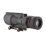 TRIJICON ACOG 6x48mm Dual Illuminated Red Chevron .308 Ballistic Reticle with TA75 Adapter