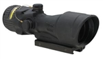 TRIJICON ACOG 6x48mm Dual Illuminated Amber Chevron .50 BMG Ballistic Reticle with TA75 Adapter