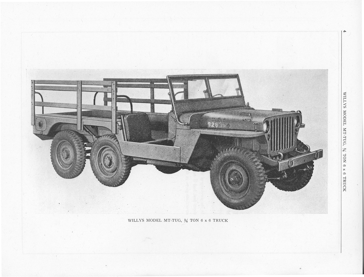 Special Supplement on 6x6 Willys MB