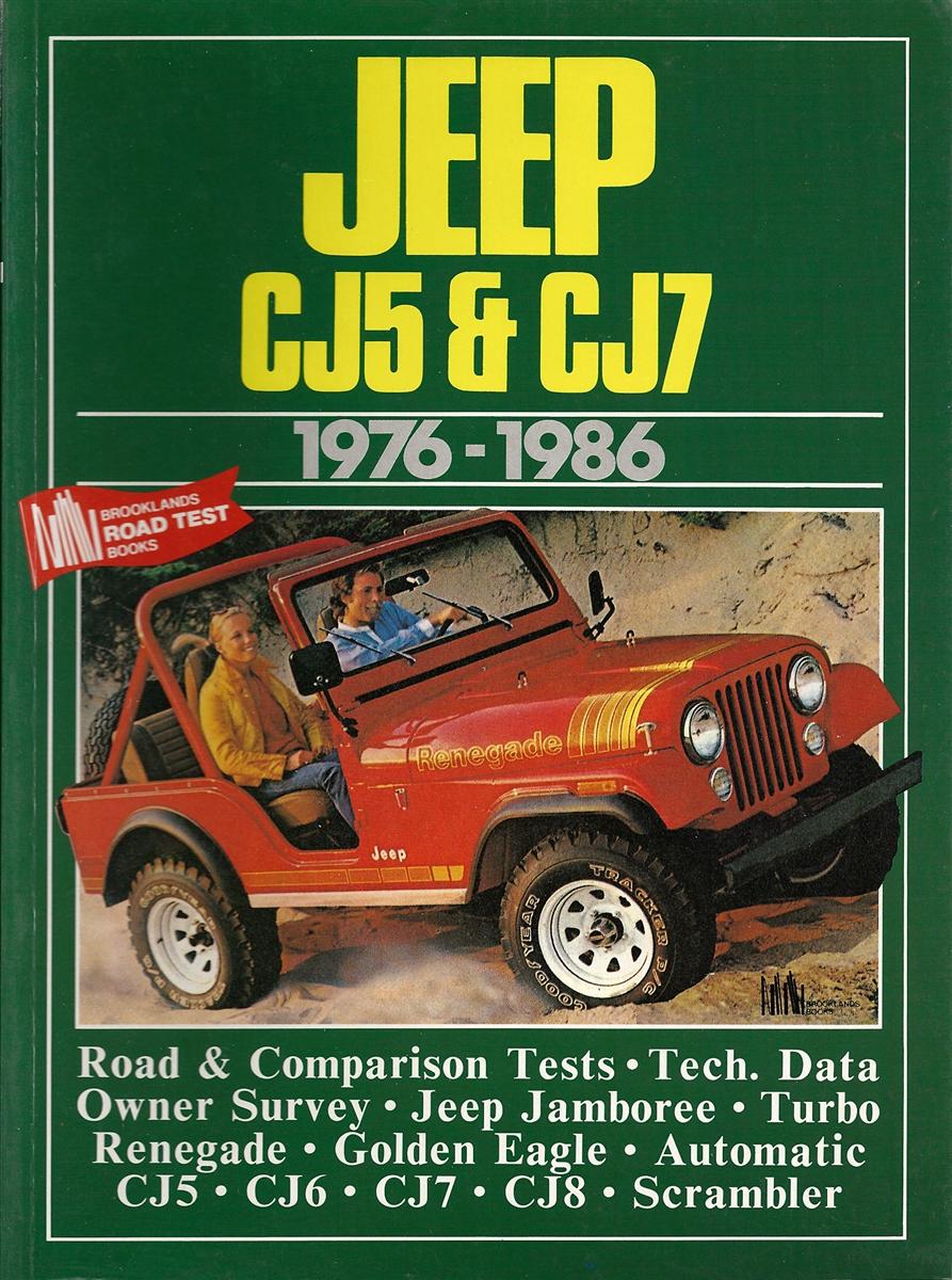 JEEP CJ BOOK CJ7 CJ5 PORTFOLIO PERFORMANCE