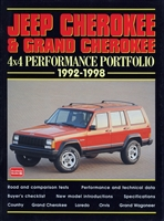 Jeep Cherokee & Grand Cherokee 4x4 Performance Portfolio 1992-1998 compiled by R.M. Clarke.