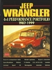 Jeep Wrangler 4x4 Performance Portfolio 1987-1999 compiled by R.M. Clarke.