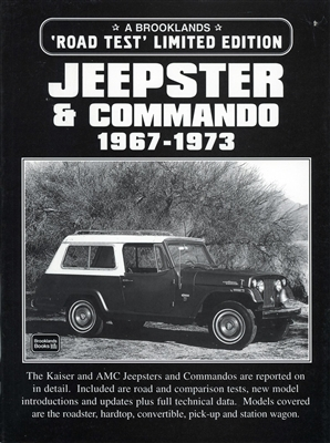 Jeepster & Commando 1967-1973 Road Test Limited Edition compiled by R.M. Clarke