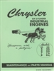 Chrysler 6 Cylinder Industrial Engines: Maintenance and Parts (1950)