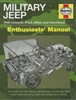 Military Jeep 1940 Onwards (Ford, Willys and Hotchkiss) by Pat Ware/Haynes