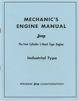 "Special Mechanics Manual on Willys ""Go-Devil"" flathead engine."
