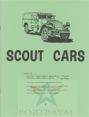 History, Development & Employment of the White M3A1 Scout Car (G67)