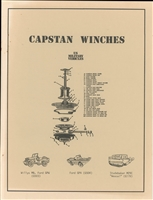 Capstan Winches - Operation, Parts & Maintenance