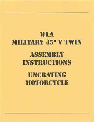 WLA Assembly Manual (Harley WLA G523)