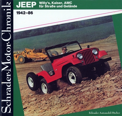 Jeep 1942-86 by Walter Zeichner (GERMAN TEXT)