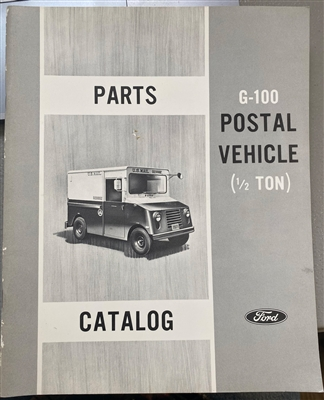 Parts Manual for Ford G-100 1/2 Ton Postal Vehicle
