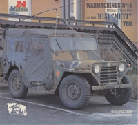 "1/4 Ton M151 ""Mutt"" by Peeters.  Warmachines No. 14 ""Military Photo File"" M151"