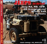 Jeeps In Detail:  Jeep MA, MB, GPW by Koran and Mostek