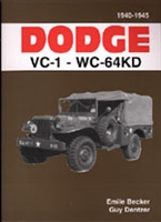 Dodge VC-1 to WC-64KD 1940-1945 by Emile Becker & Guy Dentzer