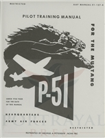 P-51 Mustang Pilot Training Manual Cover