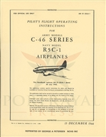 C-46 Pilot Training Manual by Headquarters, Army Air Force, Office of Flying Safety