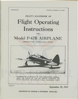 T.O. No. 01-65BC-1 P-47B Pilot Training Manual by Headquarters, Army Air Force, Office of Flying Safety