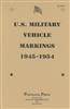 AR-850-5  U.S. Army Vehicle Markings 1945-1954