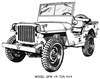 #1 Restorer's Tech Library Bundle - WW2 G503 Jeep