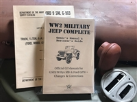 WW2 G503 Jeep/MB/GPW Shop Special