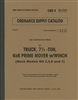 ORD 9 G532 Complete Illustrated Parts Manual for Mack 6x6, 7 1/2 Ton Prime Mover. (G532).  364 Pages