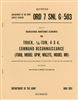 ORD 7 G503 Operational Maintenance Allowances for MB/GPW (1951)