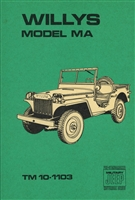 TM 10-1103 Operator & Maintenance for Willys MA