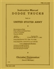 TM 10-1195 Instruction Manual 1/2 Ton Dodge 4x4 VC-1,2,3,4,5