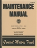 TM 10-1401 Maintenance Manual for GMC Model AFXK - 352 (G509)