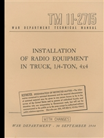 TM 11-2715 Radio Installation Manual for MB/GPW (G503)