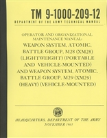 TM 9-1000-209-12 Operator & Organizational Maintenance Manual for XM28 & XM29 (M38A1 & M151)