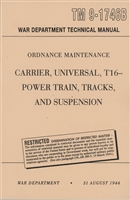 TM 9-1746B Rebuild Manual Power Train & Tracks