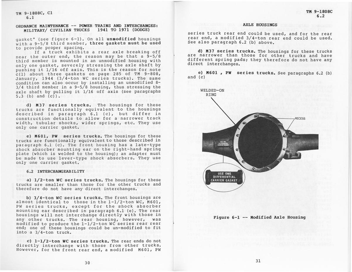 TM 9-1808C Power-Trains and Interchanges Manual