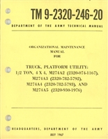 TM 9-2320-246-20 Basic Maintenance