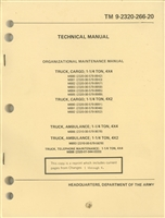 TM 9-2320-266-20 Maintenance Manual for Dodge M880 Series of Trucks