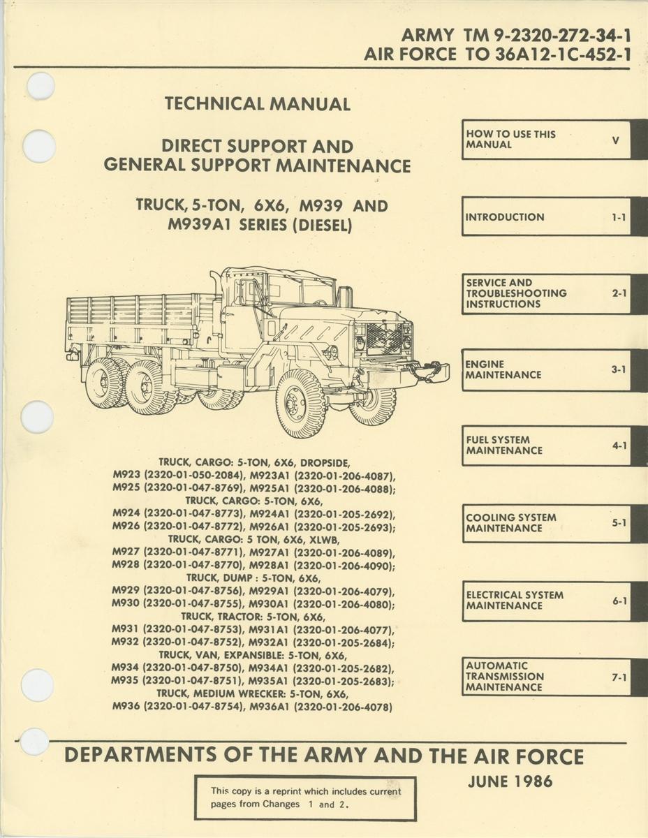 TM 9 2320 272 34 Rebuild Manual
