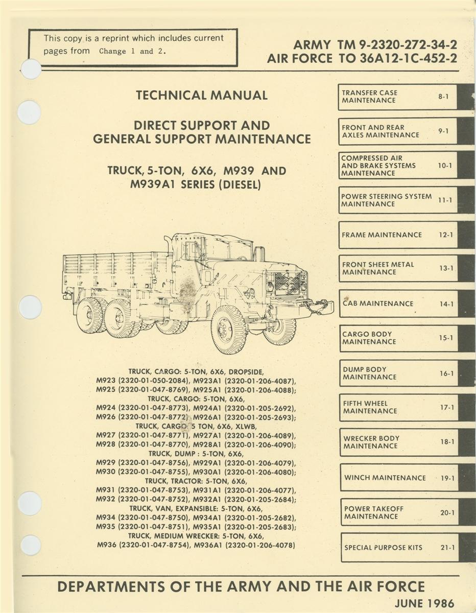 TM 9 2320 272 34 Rebuild Manual Volumes I II