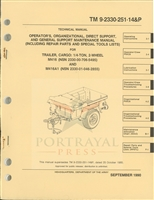 TM 9-2330-251-14P Operator & Maintenance Manual