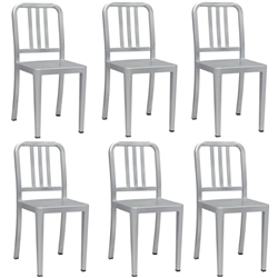 Fine Mod Imports Cafe Dining Chair Set of 6