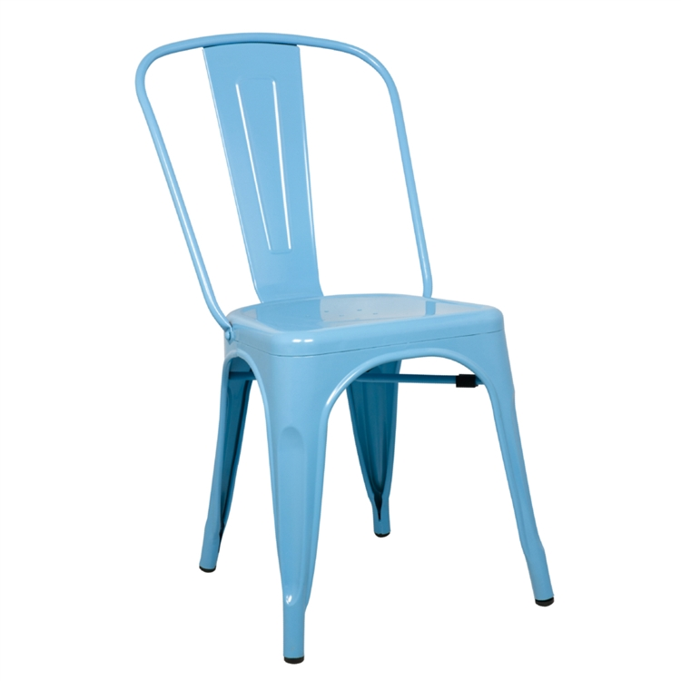 Charmant Fine Mod Imports Tolix Marais Dining Chair In Sky Blue