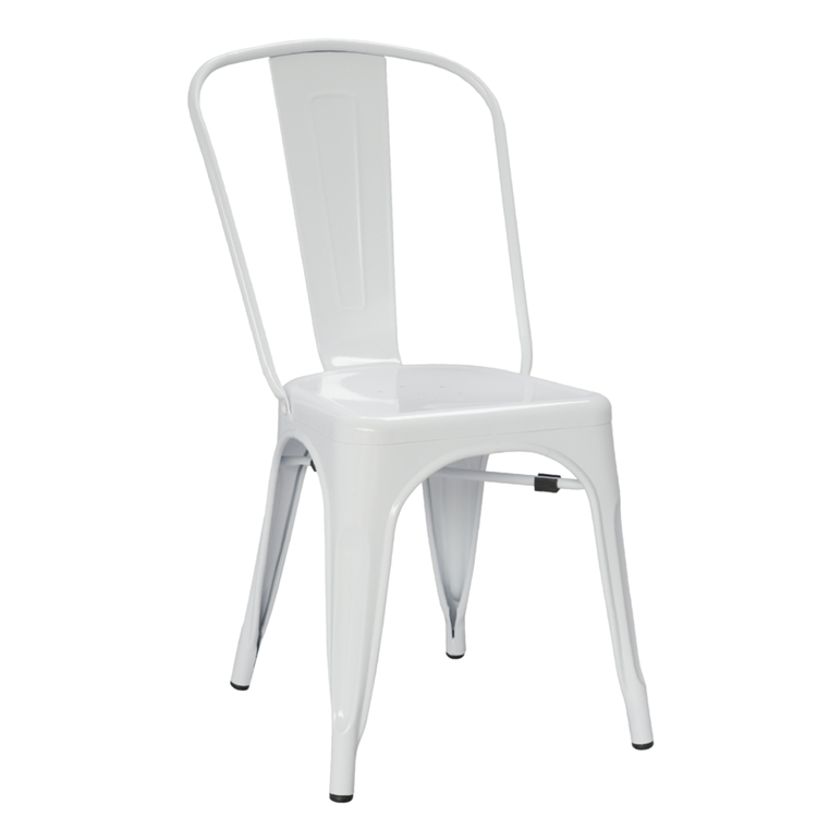 Incroyable Fine Mod Imports Tolix Marais Dining Chair In White