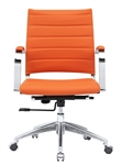 Sopada Conference Office Chair Mid Back in Orange