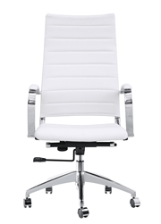 Fine Mod Imports Sopada Conference Office Chair High Back in White