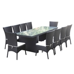 Fine Mod Imports Rattano Outdoor Dining Set