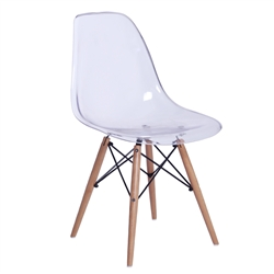 Fine Mod Imports GlossWood Dining Side Chair