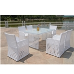 Fine Mod Imports Bold Outdoor Dining Set