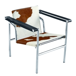 Fine Mod Imports LC1 Sling Chair In Pony Hide