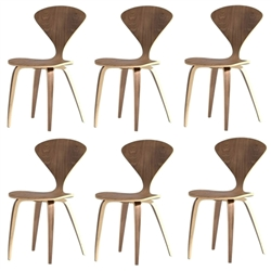Normen Chair Modern Wooden Side Chair Set Of 6
